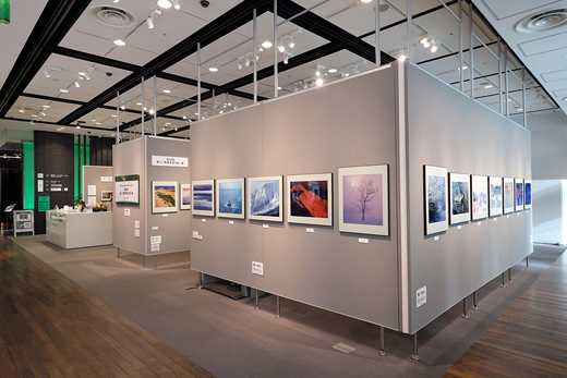 Photography exhibition at the FujiFilm Square gallery space in Roppongi, Tokyo